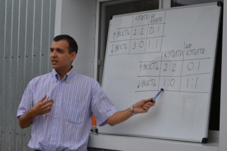 YPSWA President Volodymyr Paslavskyi