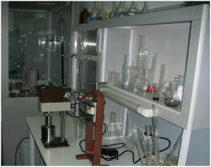 EastUkrGeology Lab, equiped to API standards